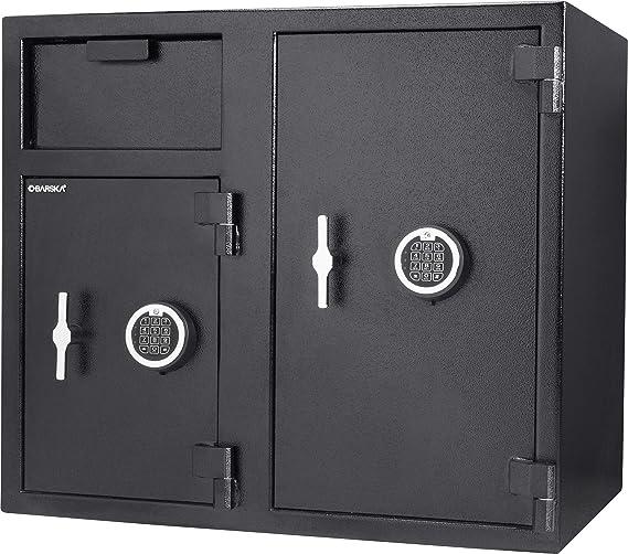 13.75 in x 13.75 in x 16 in winbest Metal Digital Keypad Security Lock Depository Drop Slot Parcel Mail Safe