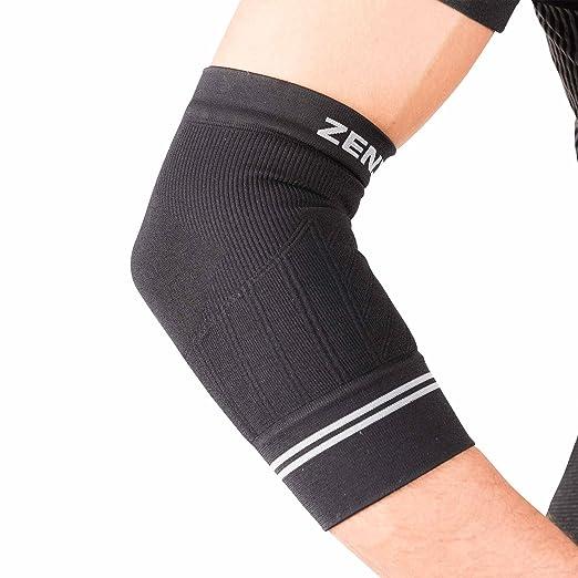 91fc8d5b56 Zensah Compression Tennis Elbow Sleeve for Elbow Tendonitis, Tennis Elbow,  Golfer's Elbow - Elbow