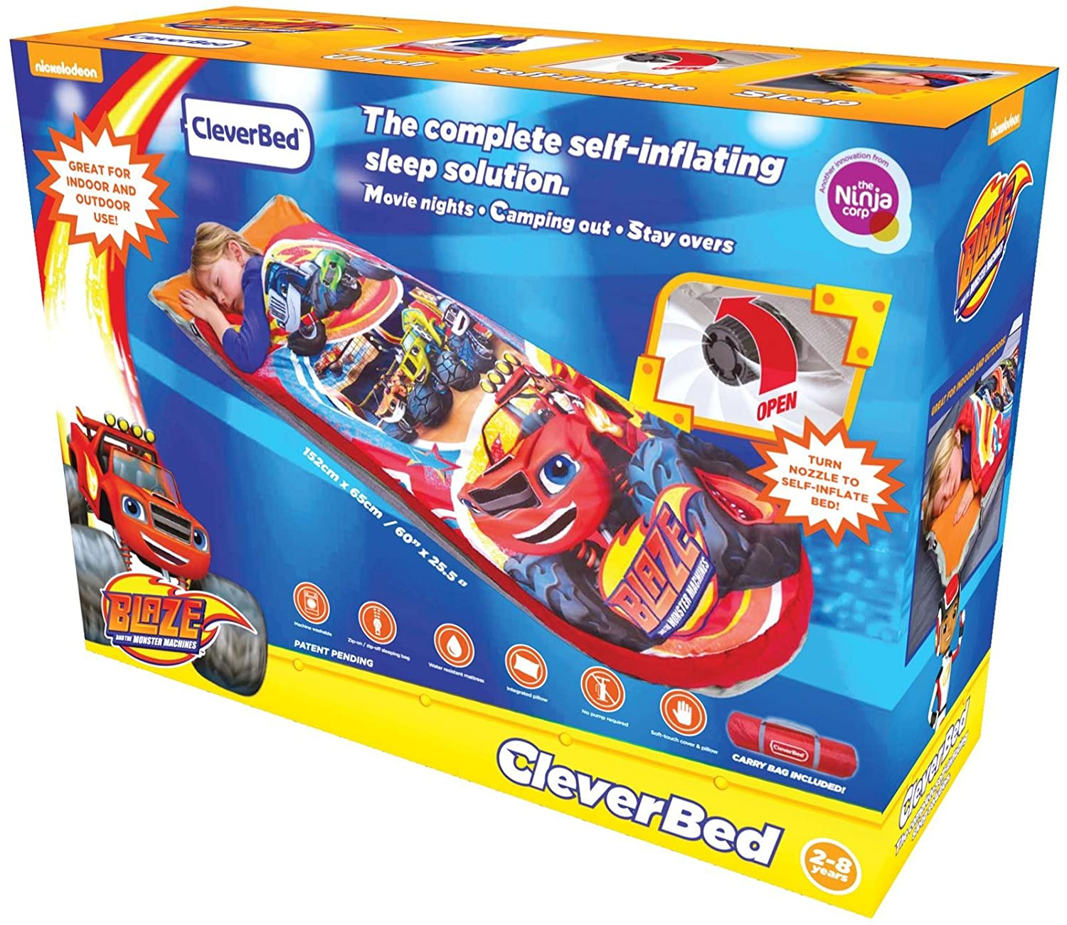 Little tikes lightning mcqueen toddler bed - Nickelodeon Clever Bed Blaze Amazon Com Little Tikes Lightning Mcqueen Roadster Toddler Bed