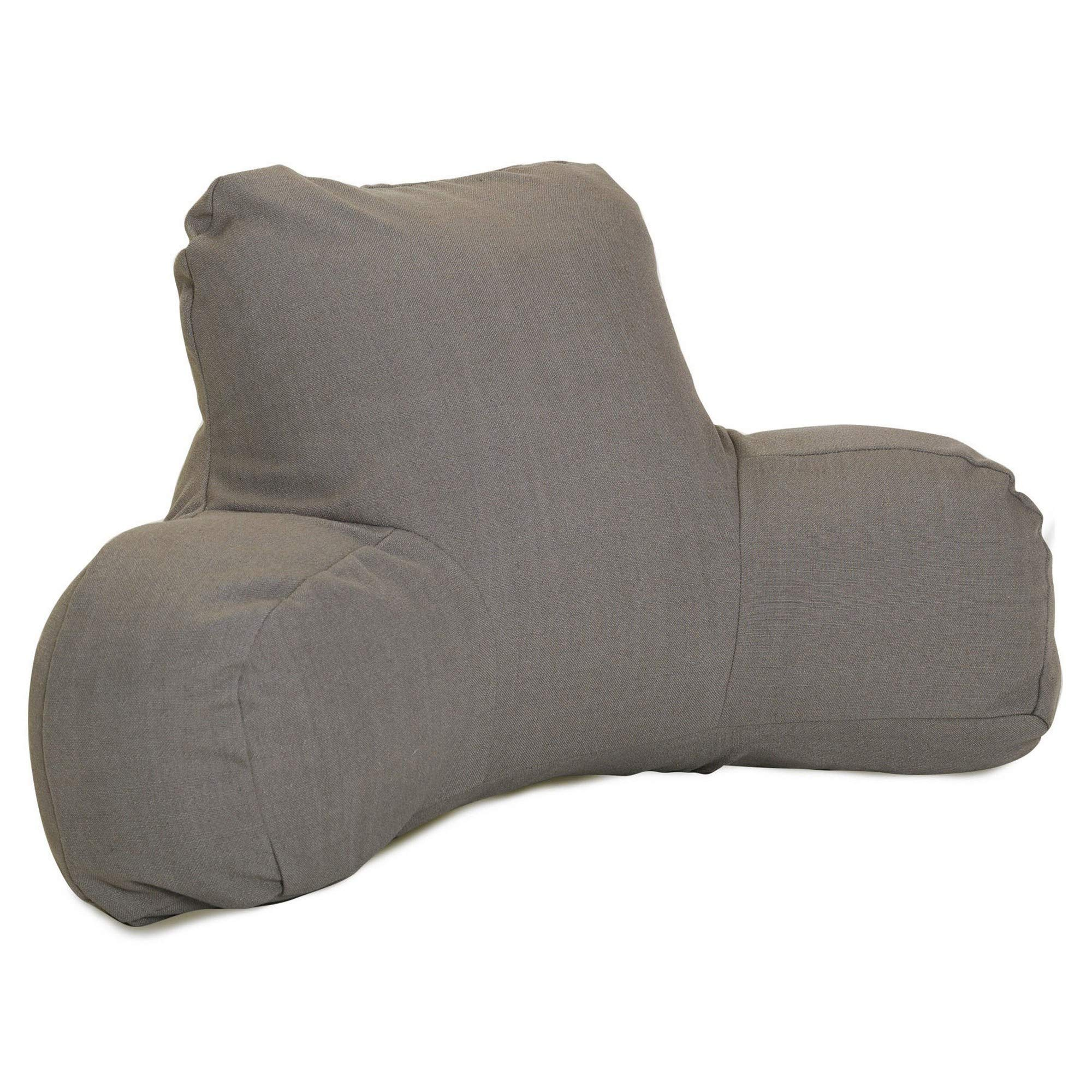 Majestic Home Goods Wales Reading Pillow, Gray by Majestic Home Goods