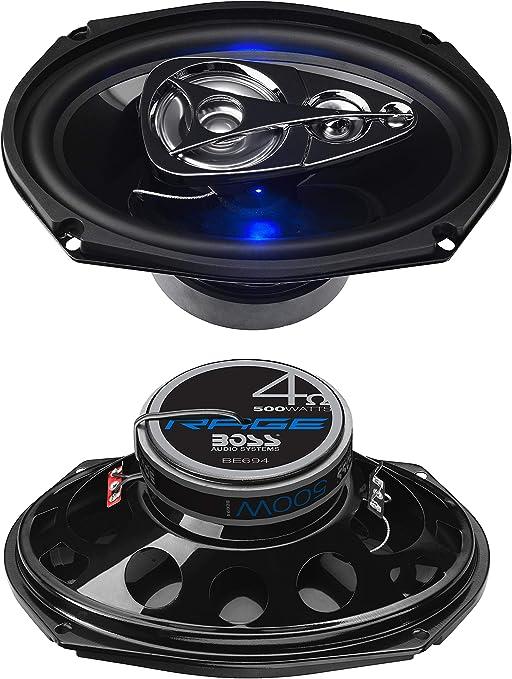 Per Pair 4 Way Car Speakers BOSS Audio R94 500 Watt Full Range 6 x 9 Inch