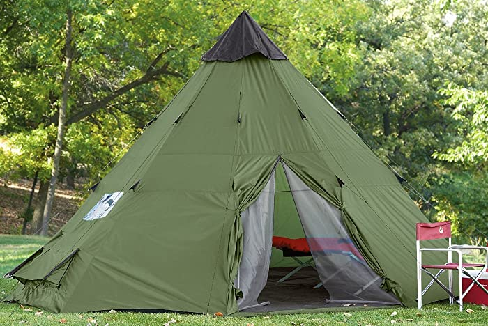 Guide Gear 18x18u0027 Teepee Tent & Teepee Tents For Camping - How To Find The Best One!