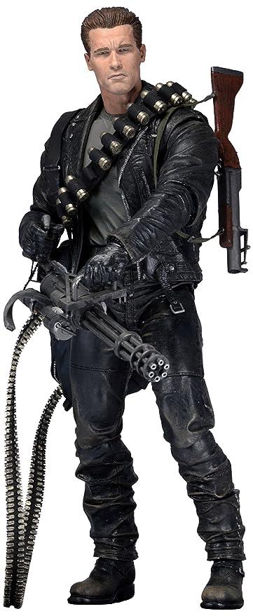 Neca Terminator 2 T-800 Cyberdyne Showdown 7 Arnold Action Figure Mint No Box