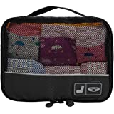 BAGSMART Travel Pouch Sock Storage Boxes Carry-on Organizer Bag