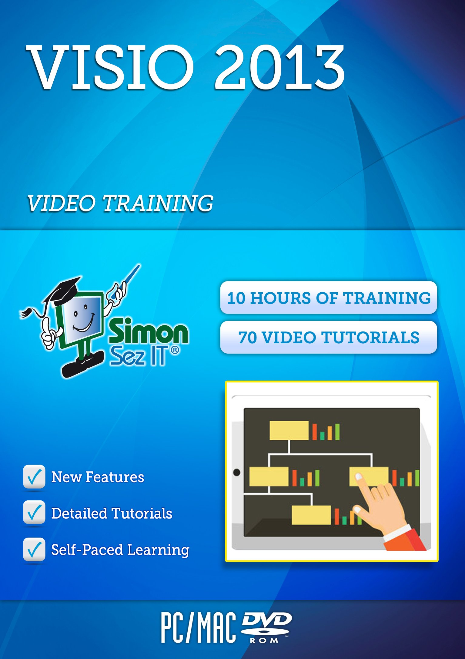 Visio 2013 Training Course For Beginners - Video Tutorials & Lectures By A Professional Instructor - Exercise Files Included by Simon Sez IT