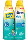 Coppertone KIDS Sunscreen Continuous Spray SPF 50 Multipack (5.5-Ounce Bottle, Pack of 2)