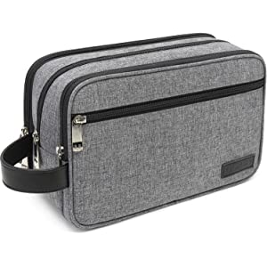 Amazon.com: Dopp Kit - Neceser de viaje para hombre: Beauty
