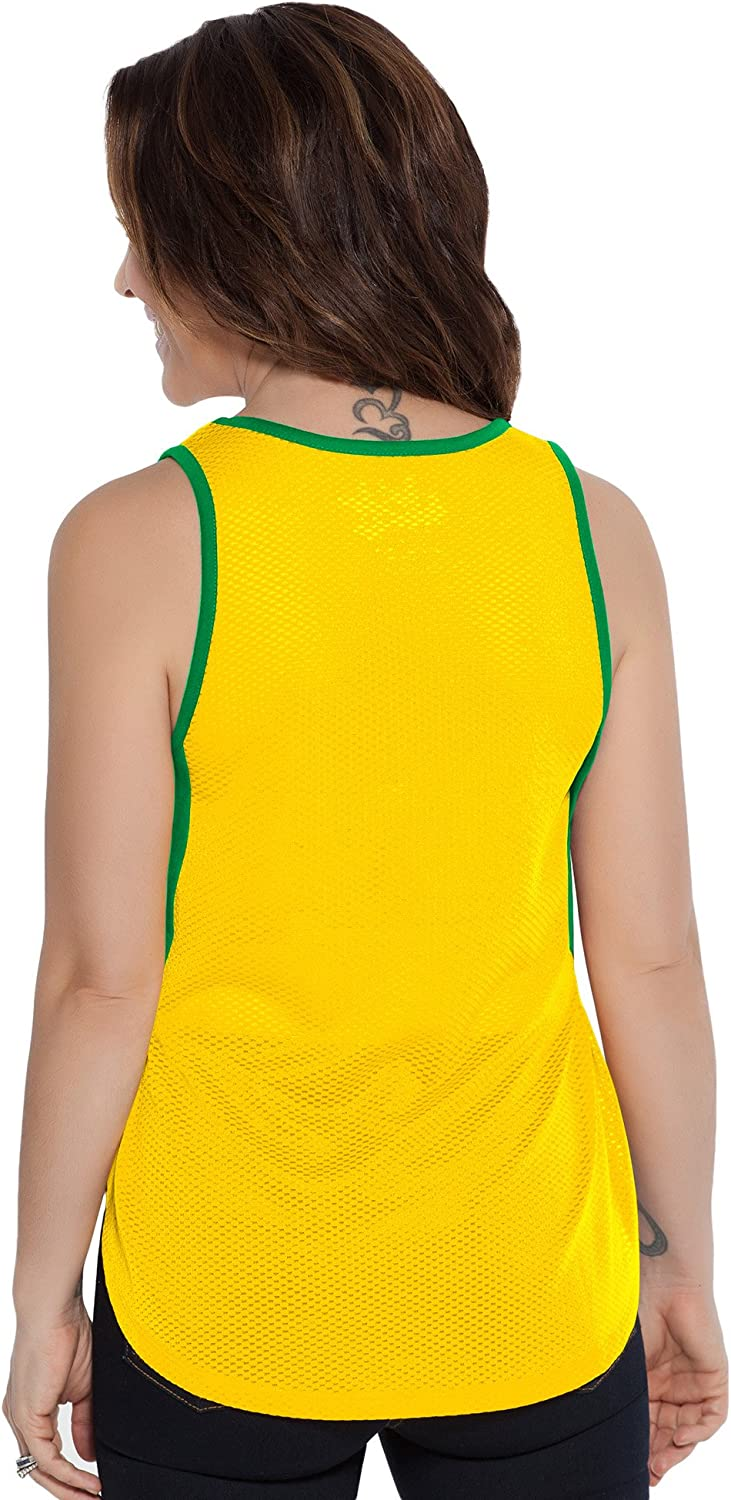 Large Touch by Alyssa Milano NBA Seattle Supersonics Fair Catch Tank Green