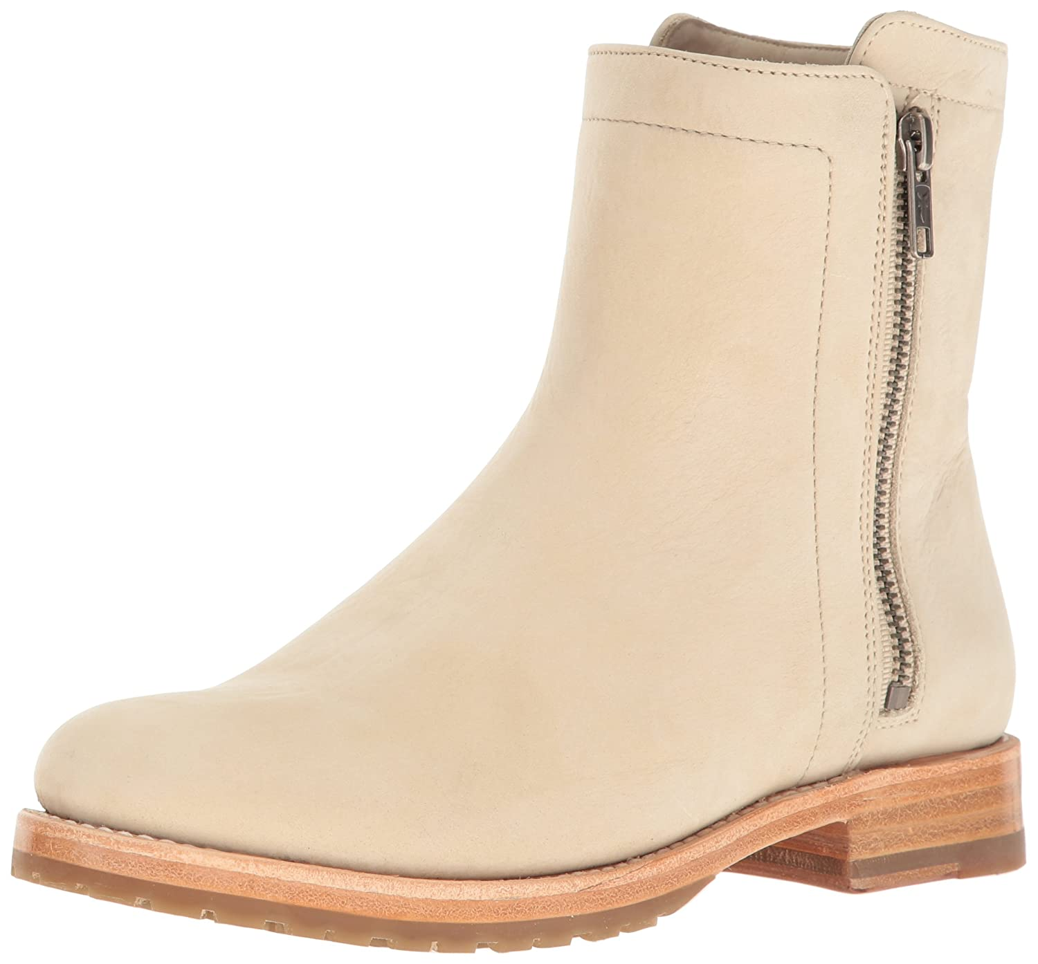 FRYE Women's Natalie Double Zip Boot B01H4XBHU2 5.5 B(M) US|Ivory