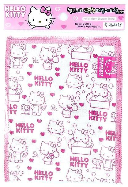 2 pc Exfoliating Bath Body Scrub Gloves Dead Skin Washcloth Korean Italy Towel