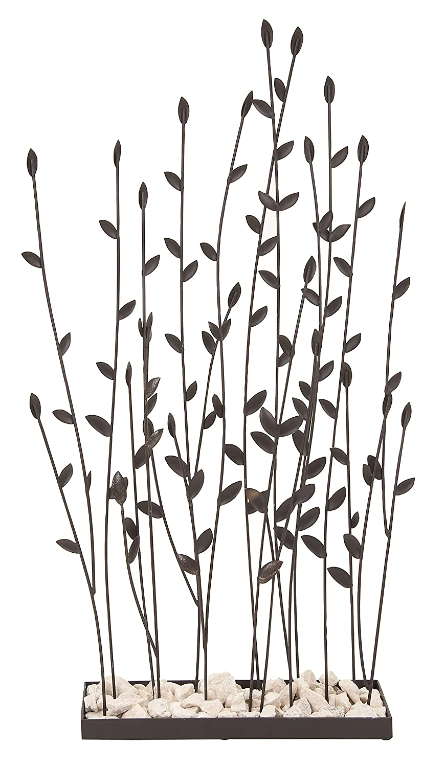 Deco 79 Metal Rocks Table Decor 31 by 14-Inch