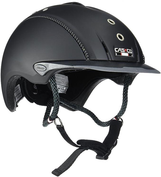 Casco Mistrall Adultos equitación, Todo el año, Unisex, Color Negro - Negro Titanio, tamaño L (59-62 cm): Amazon.es: Deportes y aire libre