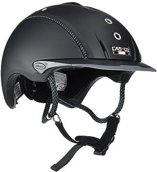 Casco Mistrall Adultos equitación, Todo el año, Unisex, Color Negro - Negro Titanio