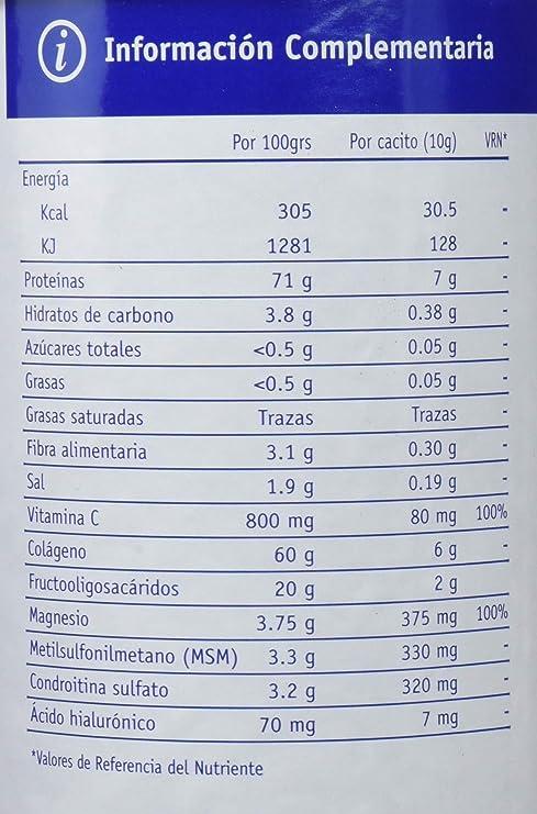 SOTYA - COLAGENO ACIDO HIALU MSM 400g SOTYA: Amazon.es: Salud y cuidado personal