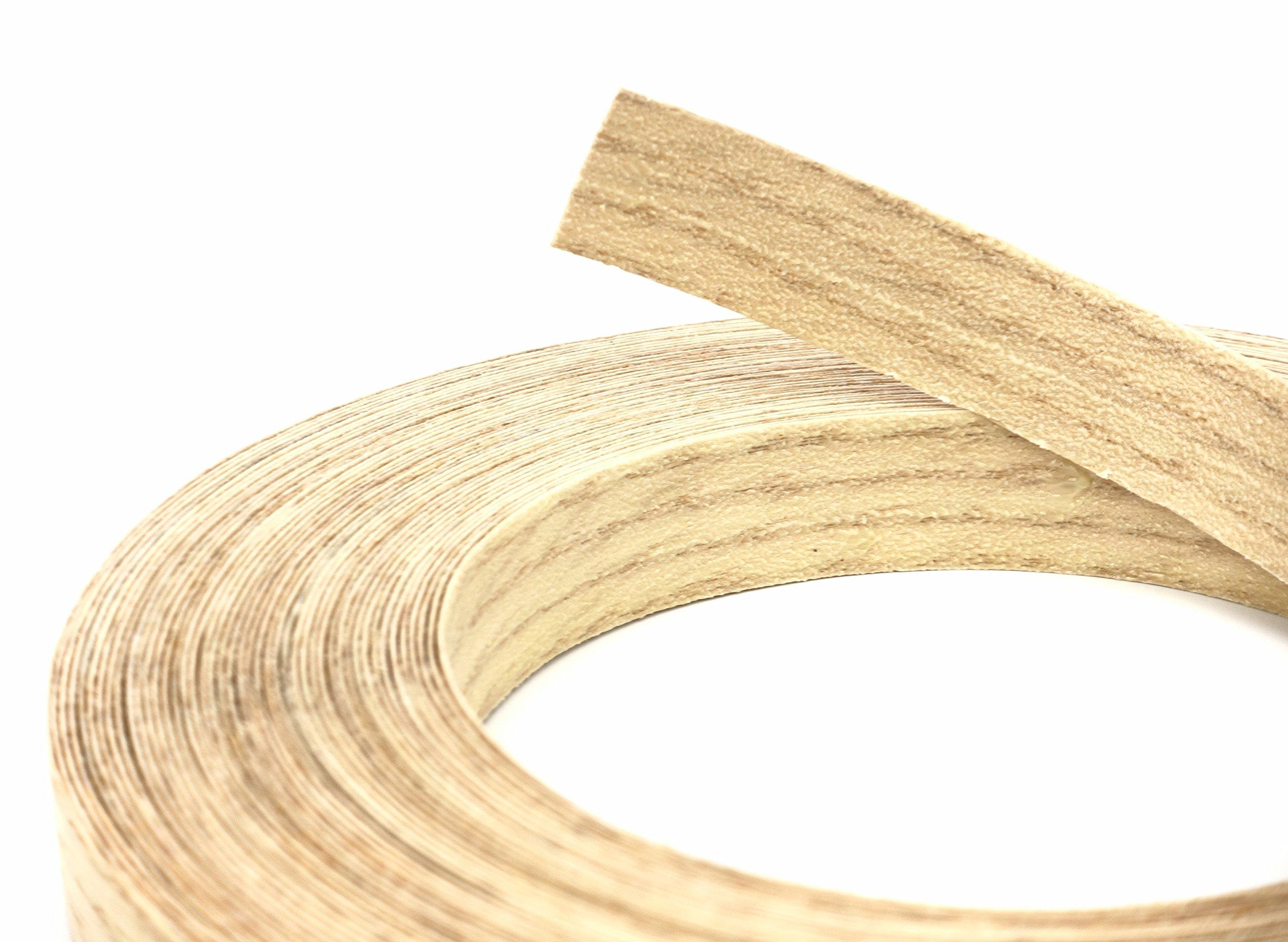 Red Oak Wood Veneer Edge Banding Preglued 7/8'' X 250' Roll