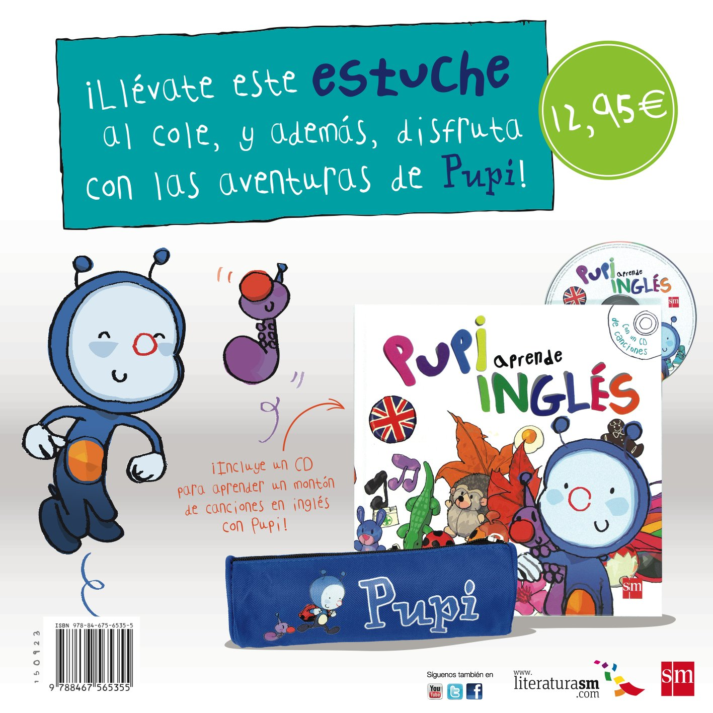Pack Aprende inglés con Pupi + Estuche: Amazon.es: Menéndez-Ponte ...