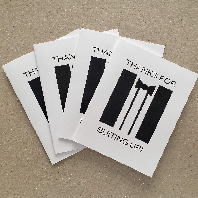 Amazon.com: Groomsman Cards Thank You, Groomsmen Cards Funny, Set