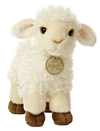 Amazon Com Aurora World Miyoni Baby Lamb Plush 7 Toys Games