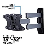 "AmazonBasics Performance Range 13-32"" Triple Arms Full Motion TV Wall Mount"