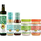 Primal Kitchen Whole 30 Starter Kit Includes Extra Virgin Avocado Oil, Avocado Oil Mayo, and Avocado Oil Dressings (5…
