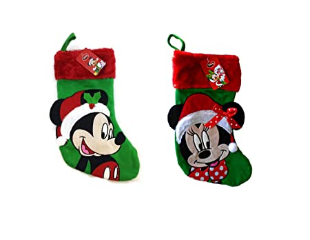 contact us home contact us disney mickey mouse big face 18 velour christmas stocking - Mickey Mouse Christmas Stocking