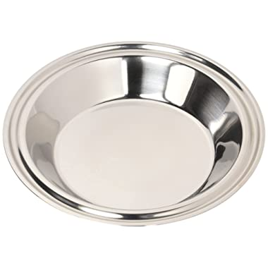 Hammer Stahl 9  Pie Plate, Stainless Steel
