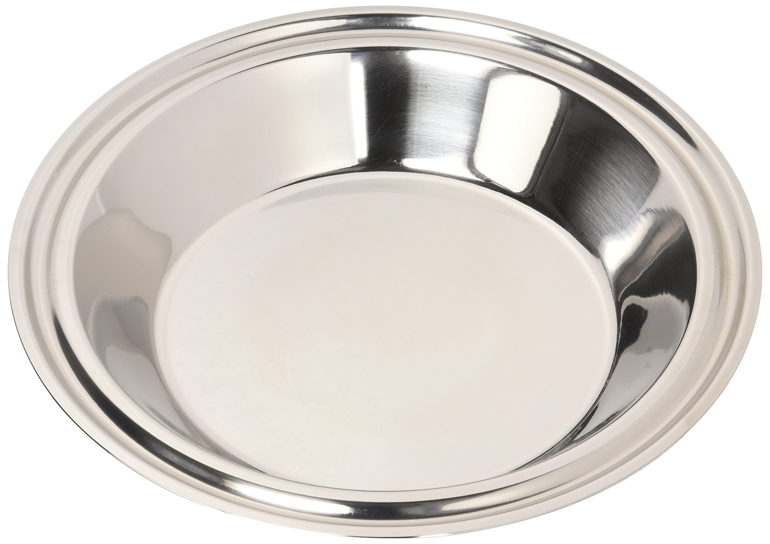 Hammer Stahl 9'' Pie Plate, Stainless Steel