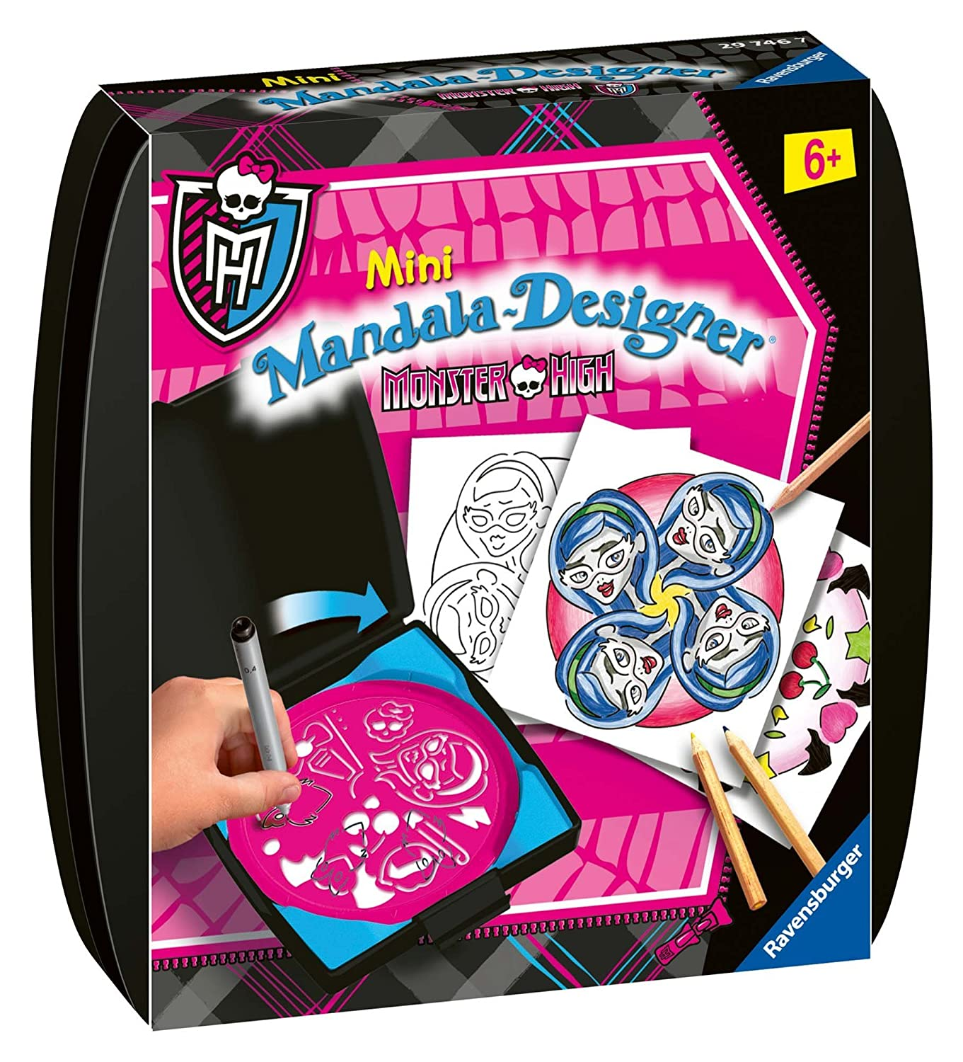 Ravensburger 29746 - Juego para diseñar de Monster High: Amazon.es ...