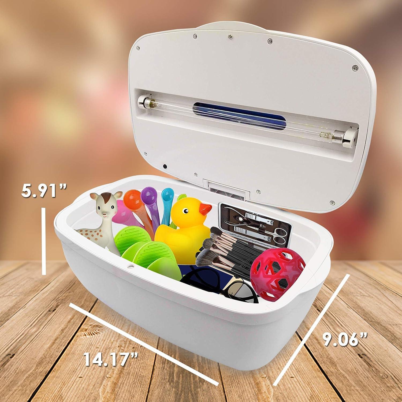 funci/ón de aromaterapia m/áscara joyas desinfector para iPhone Android port/átil Sanitizer para tel/éfono m/óvil con luces UV esterilizador tel/éfono m/óvil