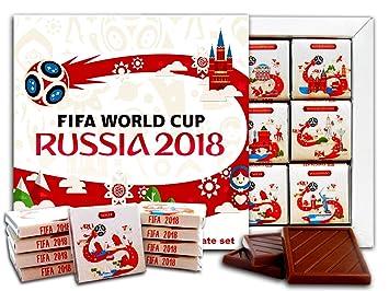 19bdbde9049 DA CHOCOLATE Candy Souvenir FIFA WORLD CUP RUSSIA 2018 Chocolate Gift Set  5x5in 1 box (