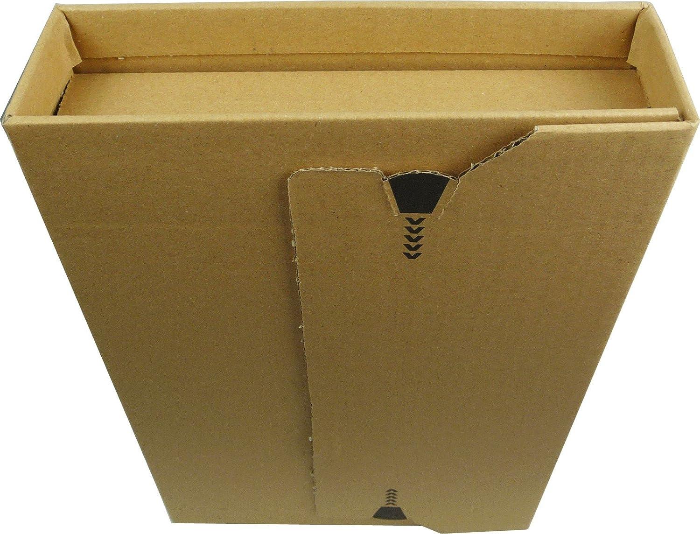 10 St/ück Buchverpackung A4 Verpackung Buchkarton 300 x 220 x 80 Innenma/ß