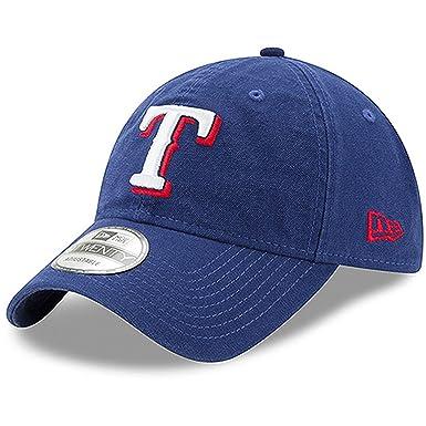 online store 8b194 5dec5 Texas Rangers New Era Core Classic 9TWENTY Adjustable Hat Royal