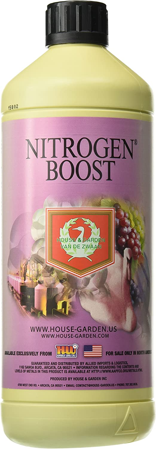 House & Garden HGNIB01L Nitrogen Boost Fertilizer, 1 L