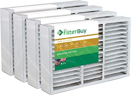 Day and Night 24x25x5 Merv 8 Replacement AC Furnace Air Filter 2 Pack