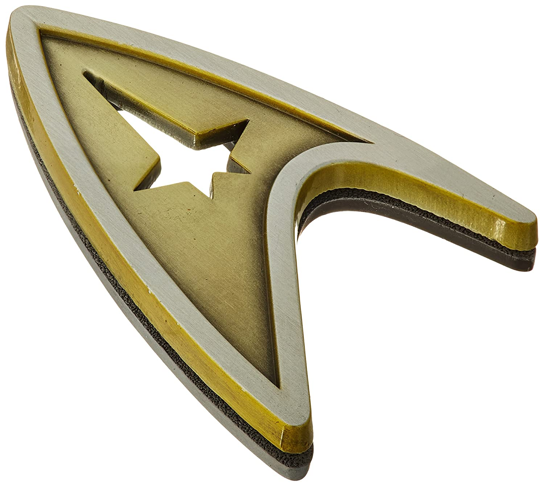 QMx Star Trek Beyond Magnetic Insignia Badge, Command