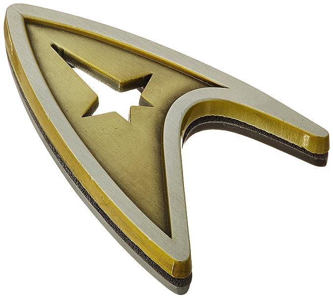 Amazon Qmx Star Trek Beyond Magnetic Insignia Badge Command