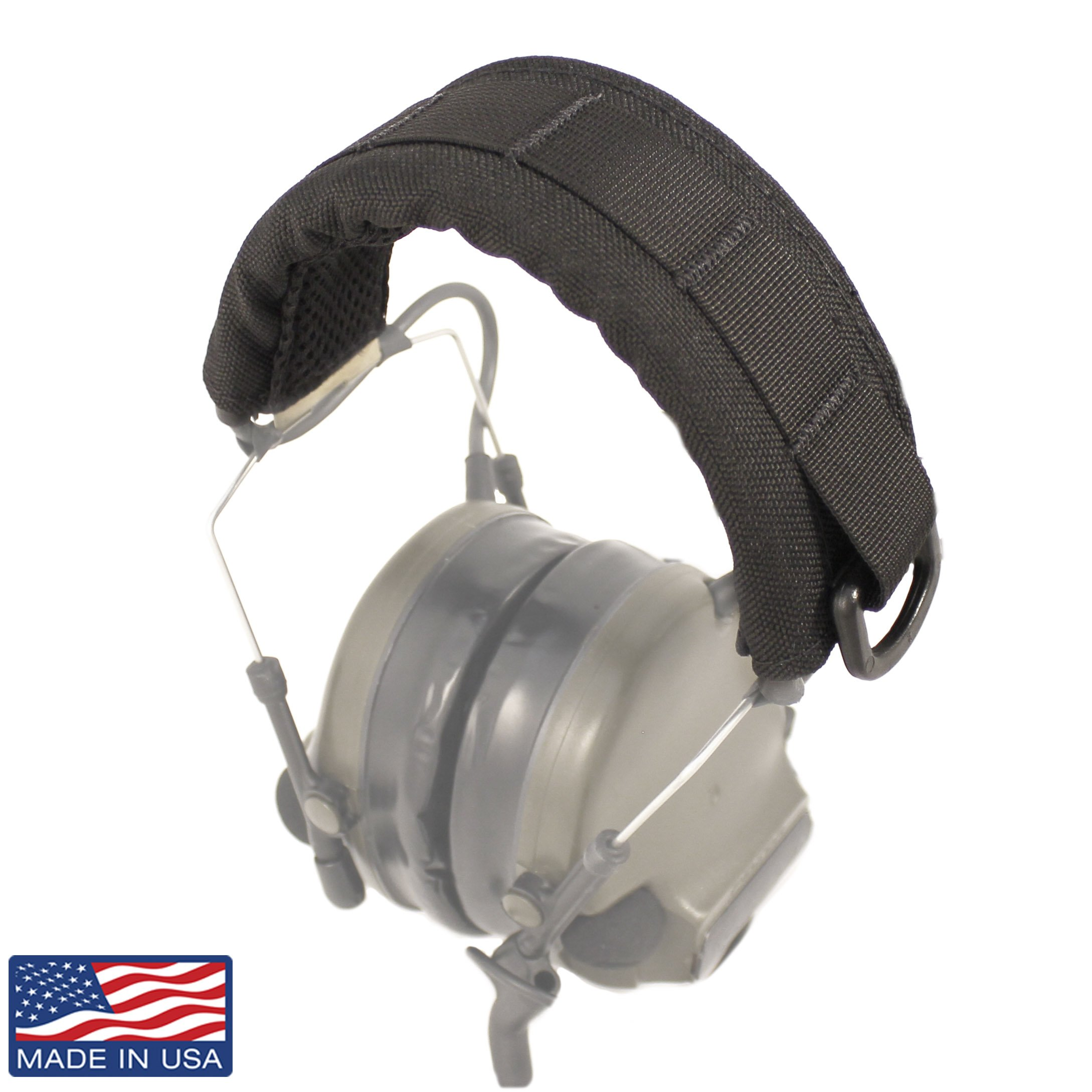 U.S. Tactical Sewing USTS Advanced Modular Headset Cover (Black) by U.S. Tactical Sewing