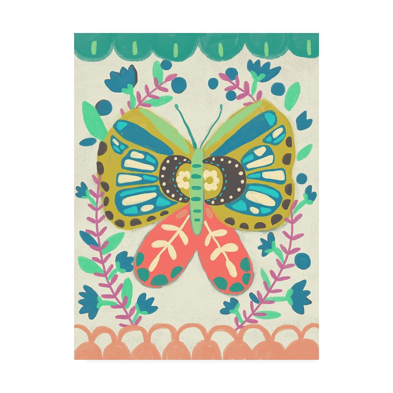 Trademark Fine Art Flutterfly II by Chariklia Zarris, 14x19