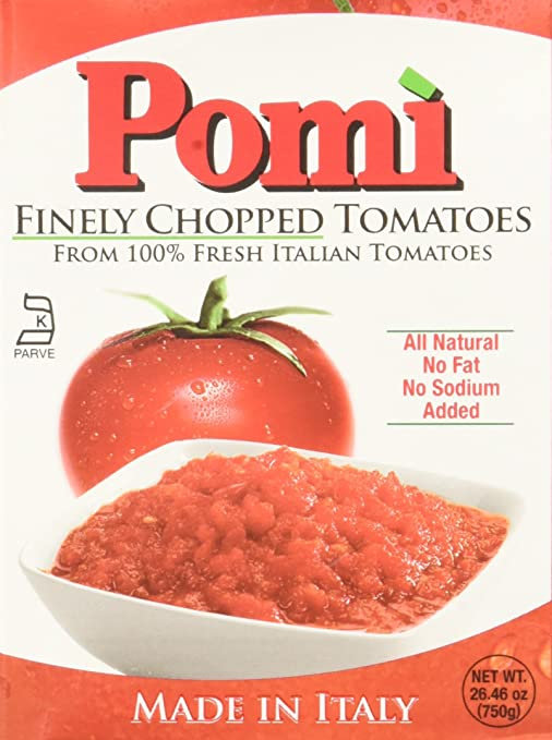 Pomi Finely Chopped Tomatoes - 26.4 oz (4 Pack)