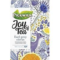 Pickwick Joy Of Tea Earl Grey Citrus Zwarte Thee met Sinaasappel, Citroen, Anijs, Goudsbloem en Korenbloem (60…