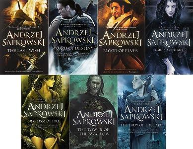 Andrzej Sapkowski 7 Book Set Collection (Witcher Series)