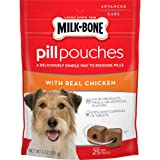 Milk-Bone Pill Pouches Dog Treats to Conceal Medication, Approx. 125 Count