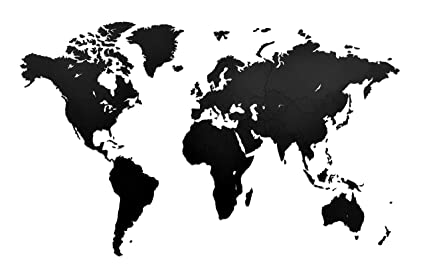 Amazon world map travel wall decor 512 308 inches world map travel wall decor 512 308 inches wall decor idea for gumiabroncs Choice Image