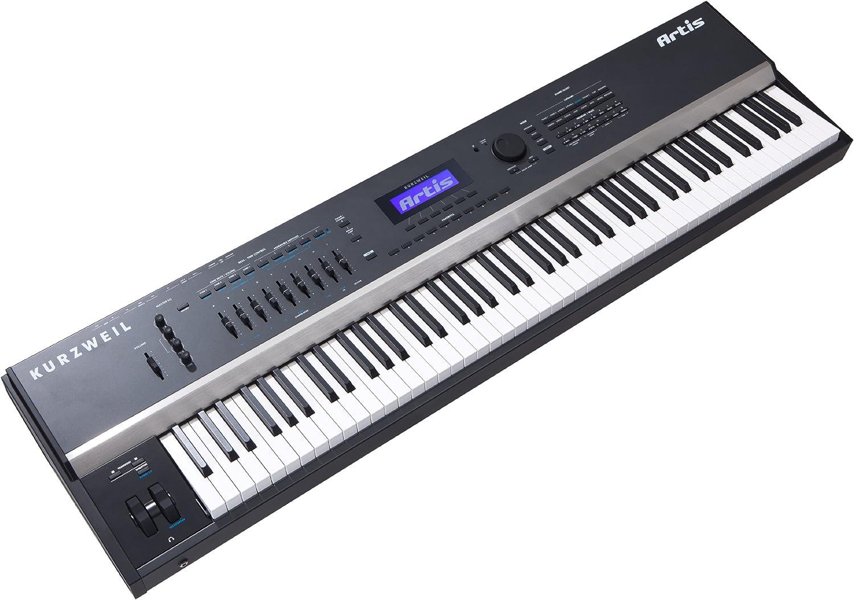 Kurzweil ARTIS piano digital - Teclado electrónico (138,5 cm, 39,5 cm, 14 cm, LCD) Negro