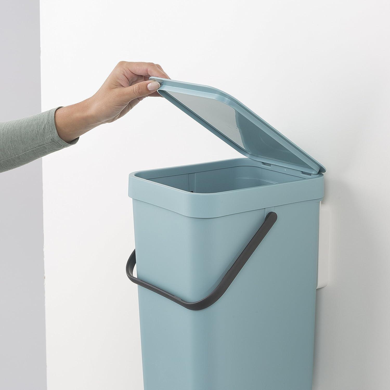 Amazon.com: Brabantia Sort & Go Waste Bin, 16L/4.2 Gal. , 16 L ...