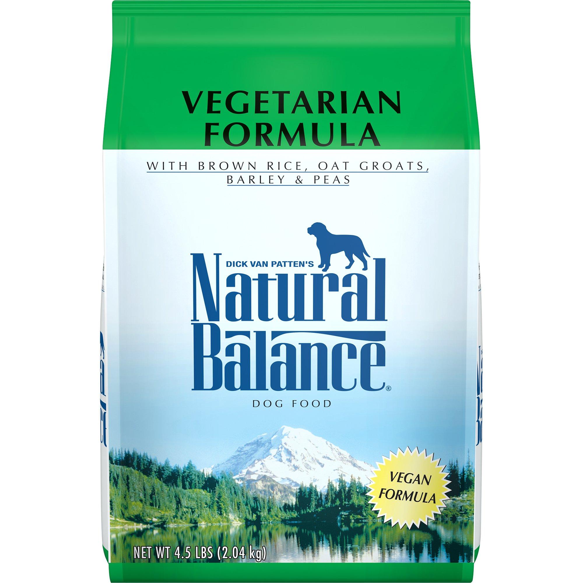 Natural Balance Vegetarian Formula Dry Dog Food, 4.5-Pound by Natural Balance (Image #1)