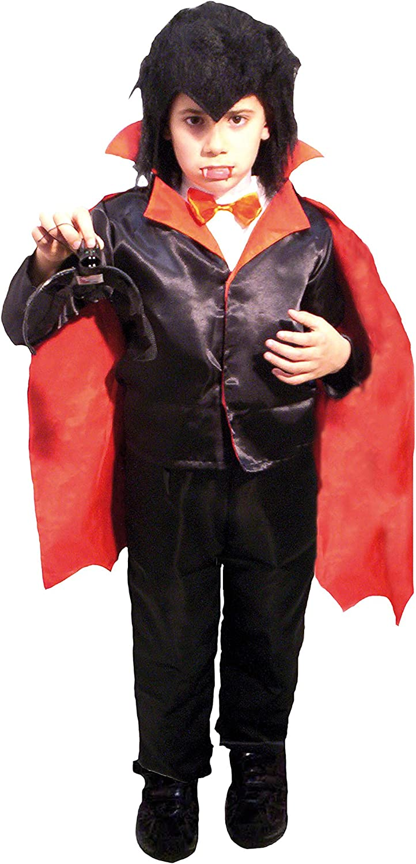EL CARNAVAL Disfraz Vampiro niño Talla de 4 a 6 años -Incluye ...
