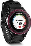 Garmin Forerunner 225 GPS Running, Monitoraggio Passi e Attività Quotidiana, Nero/Rosso