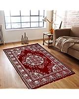 """Warmland Traditional Chenille Carpet - 60""""x84"""", Multicolour"""