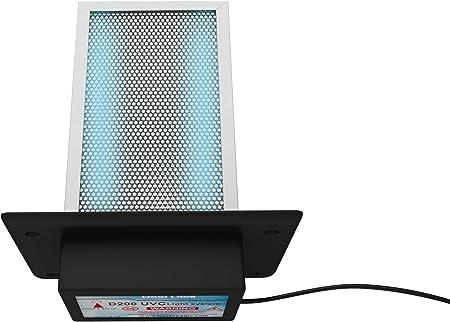 D200 doble lámpara purificador de aire Filtro de rayos UV en toda ...